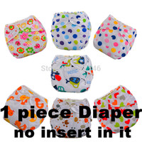 Wholesale Baby Adjustable Diapers Children Cloth Diaper Reusable Nappies Training Pants Diaper Cover color Washable Free Size D02