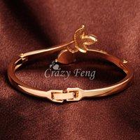 austrian crystal bangles - ewelry box gift Elegant Trendy Women s Girl s k Rose Gold Plated Clear Austrian Crystal Bracelets amp Bangles J