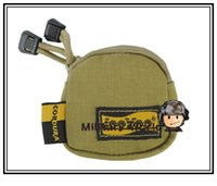 Wholesale LooYoo A126 Tactical Molle D Nylon Mini Headset Waist Pouch Hunting Military Tool Uility Bag Accessory Tool Mini Bag Blk Tan order lt no