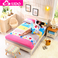 Wholesale You Duo Home Textile Cartoon Mattress Cover Floor Mattress Sleep Protector Fitted Sheet Cotton EM003