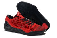 body cream - With Box High Quality Kobe KB IX Elite Woven Knit Low Varsity Red Black Men Basketball Sport Sneakers Shoes
