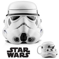 big plastic mug - 1pcs Star Wars Plastic Mug D water cup Darth Vader Stromtrooper super hero Iron man water cup ml best gifts with box Coffee Tea Cups