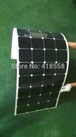 flexible solar panel - Semi Flexible Solar Panel W Light Weight charging efficiency years warranty