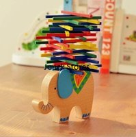 balance beams for children - Export elephant camel color stick balance beam parents paternity toys puzzle game for children
