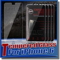 Wholesale For Iphone iphone plus Tempered Glass Screen Protector mm Treated Glass for iPhone samsung Galaxy Note