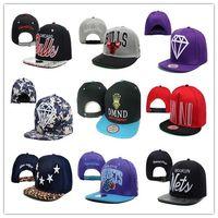 snapback wholesale - snapback panel baseball men caps breathable cotton adjustable team snapback hats hip hop caps Accept customized team snapback hats