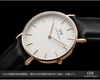 Wholesale top luxury Brand Daniel Wellington Watches DW Watch Women men Leather strap sports Quartz Wristwatch Relojes De Marca