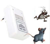 ant spider - Pest Repeller ULF Ultrasonic Waves V Electronic Repeller Control Aid for Ants Spiders Roaches Mouse Mice Repelling White H11845