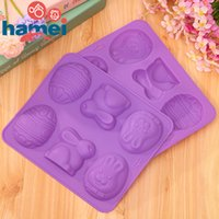animated rabbits - Prison Rabbit Usavich silicone chocolate mould Animated cartoon soap cake mold silicone refrigerator ice mold D668