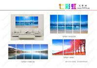 Wholesale 2016 fation more Panel more style many color set wall Print Modern Painting drop shipping