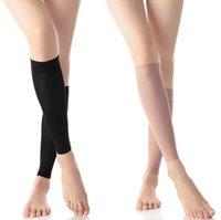 Wholesale Hot Sales Ladies Womens Magic Stretch Slimming Fat Burnning Socks Leg Calves Crus Shaper Lycra FX201