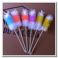 metal tools - 27cm water pipes cleaning brush glass tube brush cleaning tools for smoking accessories water pipes