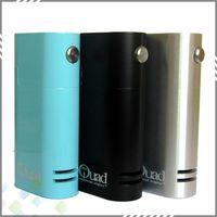 door - Vaporizer Quad Box Mod fit Dual Battery Top Slide Battery Door Best Quad Mechanical mod with thread DHL Free