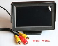 Wholesale Stand in car TFT LCD Monitor NC430A