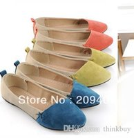 ballet shoes discount - Big Discount New Women Girl Casual Comfort Ballet Patchwork Low Heels Flat Loafers Shoes Color