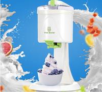 automatic ice cream cone machine - fruit ice cream DIY ice cream ice cream machine fully automatic household child icecream cones