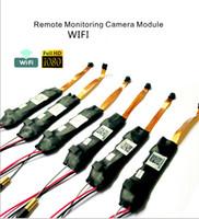 Wholesale V99 Latest Wireless WIFI Mini Camera Module Board Camcorder IP P2P CCTV Camera Full HD P Hidden DVR Mini DV Video Security