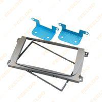 Wholesale Silver DIN Car Refitting Radio Stereo DVD Frame Fascia Dash Panel Installation Kits For Ford Galaxy II MPV