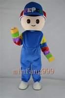 Wholesale Pepee Boy mascot Cartoon Doll costume party to celebrate Christmas party