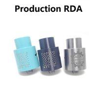 metal tools - New Production RDA RBA Atomizers Authentic Original MM Threading With DIY Tool Peek Insulator Big vape High quality colors