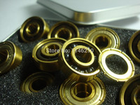 Wholesale 16PCS BSB gold ceramic bearing bearing professional speed skating beads pottery bearing race bearings