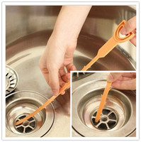 plastic clogs - Newly Design Plastic Drain Clogs Cleaner Sink Plumbing Cleaning Small Tool Clean Hook Nice