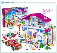 best sweet plastics - Banbao Girls Brick Sweet Home Sweet Girl Bricks Building Block Toy Minifigures Best Gift for Children