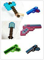 Wholesale Boy Toys Diamond Axes Boy Toys New Diamond Blade Axes Shovels Pistol Fashion Baby Cute EVA Shovels Diamond Picks the Axe Toys