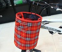 Wholesale Mountain Bike Basket Waterproof Bicycle Basket Folding Bicycle Baskets