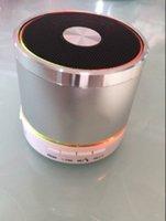 Wholesale F12 Wireless Bluetooth Speakers Mersini Portable Speak Plug In Card Bass Silvery Color