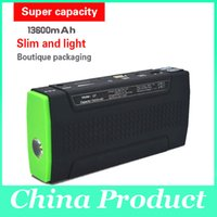 Wholesale Q7 V mAh Jump Starter Multi function Emergency Start Power Bank for iPad Mobile Phone with LED Lights