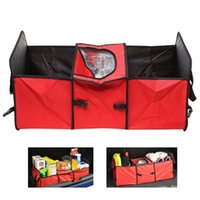 Wholesale Foldable Car Auto Collapsible Bag Great Storage Capacity Car Organizer Waterproof Nylon Storage Bag for Cars