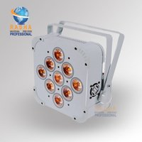 Wholesale 1X Hot Sale Rasha Panta W RGBAW in Wireless Battery Power Flat Par Light ADJ LED Flat Par Can For DJ Club Event Party