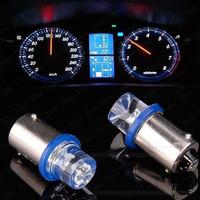 Wholesale 2 X T8 Car interior LED Light Bulb Lamp DC V Blue Car instrument light