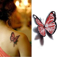 art fancy - Tattoo Body Art Temporary Tattoos D Gothic Sexy Temporary Tattoo Stickers Party Fancy Body Art Makeup Butterfly