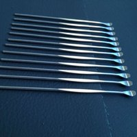 Wholesale Stainless steel e cigarette dabber tool titanium dab nail for wax glass ago g5 vgo skillet snoop dogg atomizer g Pro vaporizer