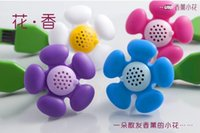 Wholesale 500PCS HHA635 Flower USB Air Purifiers USB Fragrance Diffuser With Light Aromatherapy Air Purifier Freshener Humidifier Without Oil