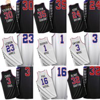 wade - All Star Sport Basketball Jersey James Curry Bryant Durant Davis Griffin Paul Wade Rose Anthony Gasol Embroidery jerseys T Shirt Tank Tops