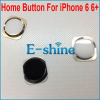 Wholesale For iPhone Home Button Menu Key Cap Assembly Replacement for iPhone6 inch and inch Black White Golden