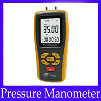 Wholesale Digital different pressure manometer GM520 with units to select moq