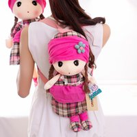 baby doll ideas - HWD kindergarten Bag Plush Toy backpack backpack Phyl doll baby birthday gift ideas
