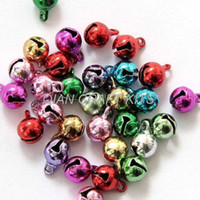 bells findings - 500Pcs Multiple Colors brass copper Metal Small Bell Pendant Beads Finding mm premium quality item
