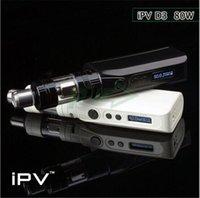 Ipv d3 Prix-100% Authentique <b>IPV D3</b> Boîte Mod Pioneer4you IPVD3 80W Modulation De Modulation De Température Best YiHi SX150H puce VS IPV D2 Xcube Mini Reuleaux RX200