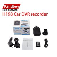 Wholesale Top selling Car Dash cams Car DVR recorder camera system black box H198 night version Video Recorder dash Camera