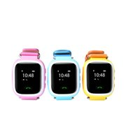 Wholesale dhl Kids GPS Watch tracker with sim card slot Kids tracking watch sos two way call conversation