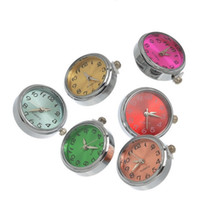 Wholesale DHL Shipping Noosa Crystal Snap Watch Face Charms Jewelry Interchangeable Jewelry Accessory