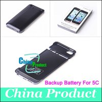 bank clips - Backup Power Bank Ultra thin Power Bank mah External Battery Clip Case Cover for iPhone C S Work With iOS