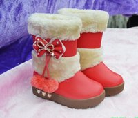 cow calf - 2015 New style kids boots girls shoes warm winter children s boots Girls Snow Boots Thicken Winter Children Shoes For years Kids Boots