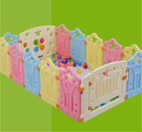 baby furniture - square kids plastic fence baby game fence playpen crawling baby guardrail fence Children Furniture size you choose
