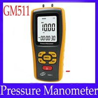 Wholesale differential pressure gauge GM511 with LCD display MOQ